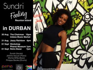 Imbizo Music & Durban tour 2019