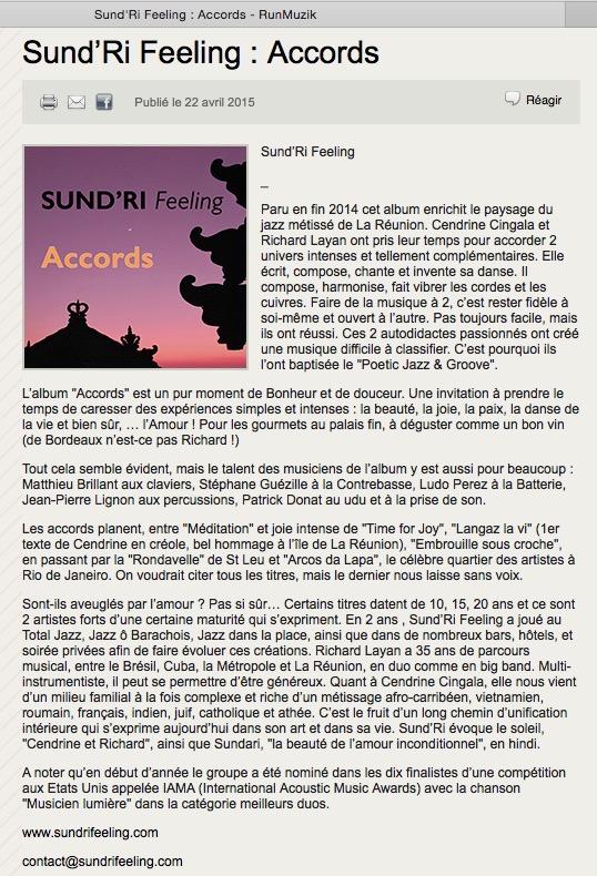 PRMA www.runmuzik.fr
