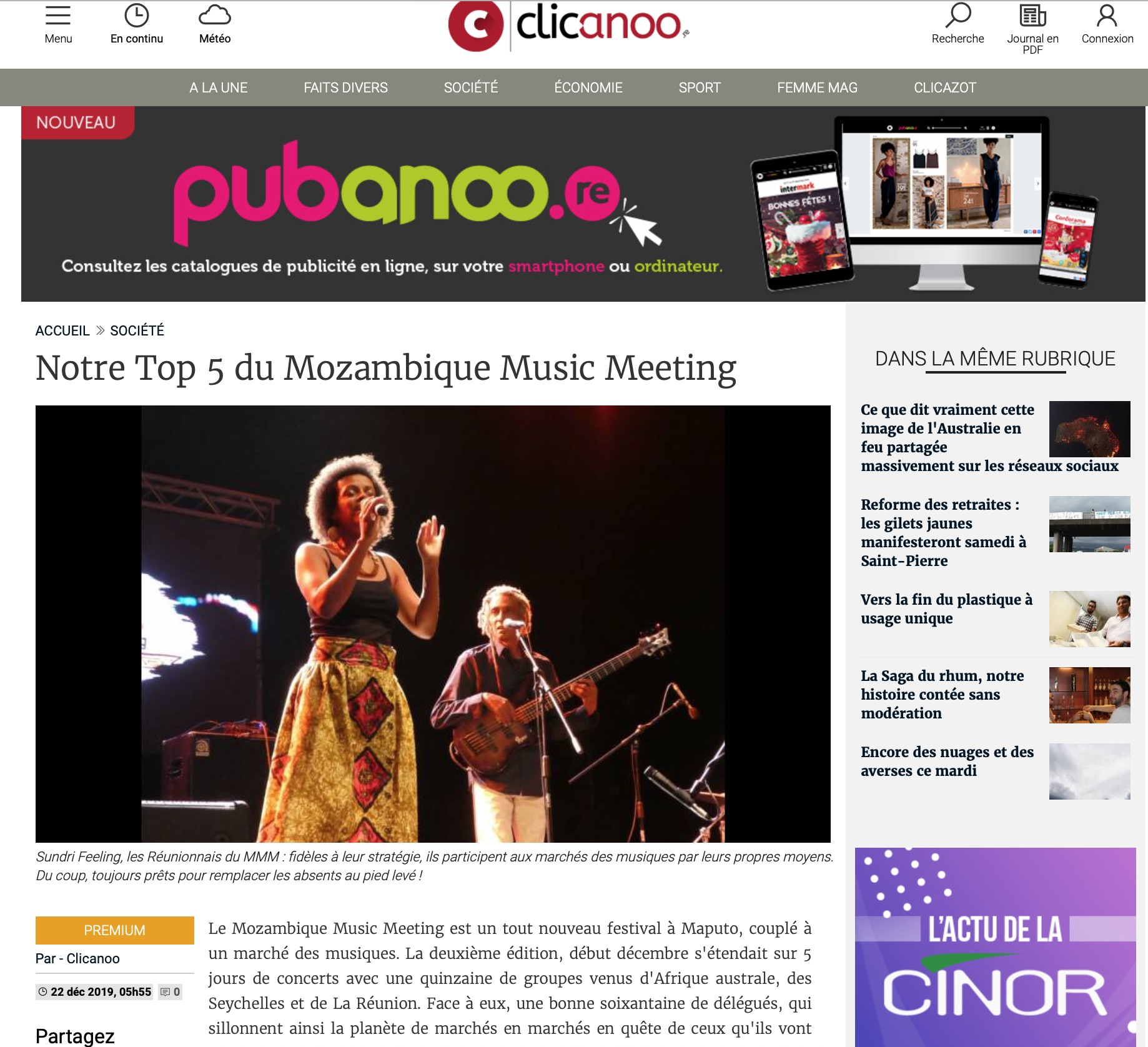 2019 12 Clicanoo Mozambique Music Meetin