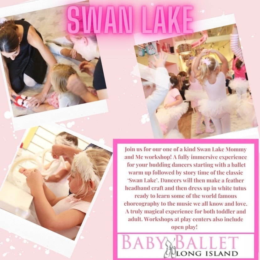 8/9 @ 10AM Swan Lake by Baby Ballet LI