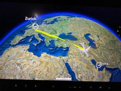 Erster langer Zwischenhalt. 21 Stunden in Doha bis zum Weiterflug.