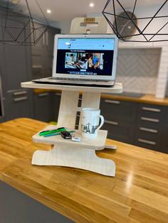 Well WorkStation - Laptop Shelf & Coffee