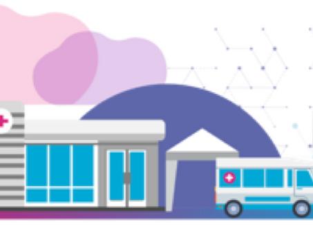 Saúde Integral. Integração plataforma de saúde/clínicas near site.