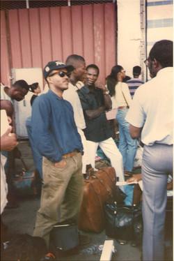 En attente pour la Guadeloupe 1995