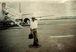 Philippe_à_l'aéroprt_du_Lamentin_Martinique