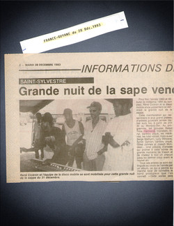 article de presse Guyane