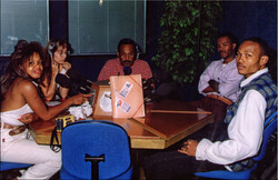 Interview radio Guadeloupe