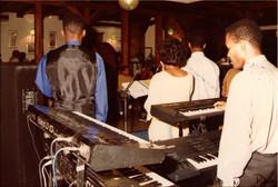 au bar des Palmistes 1996
