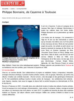 La dépêche 14 janvier 2014_