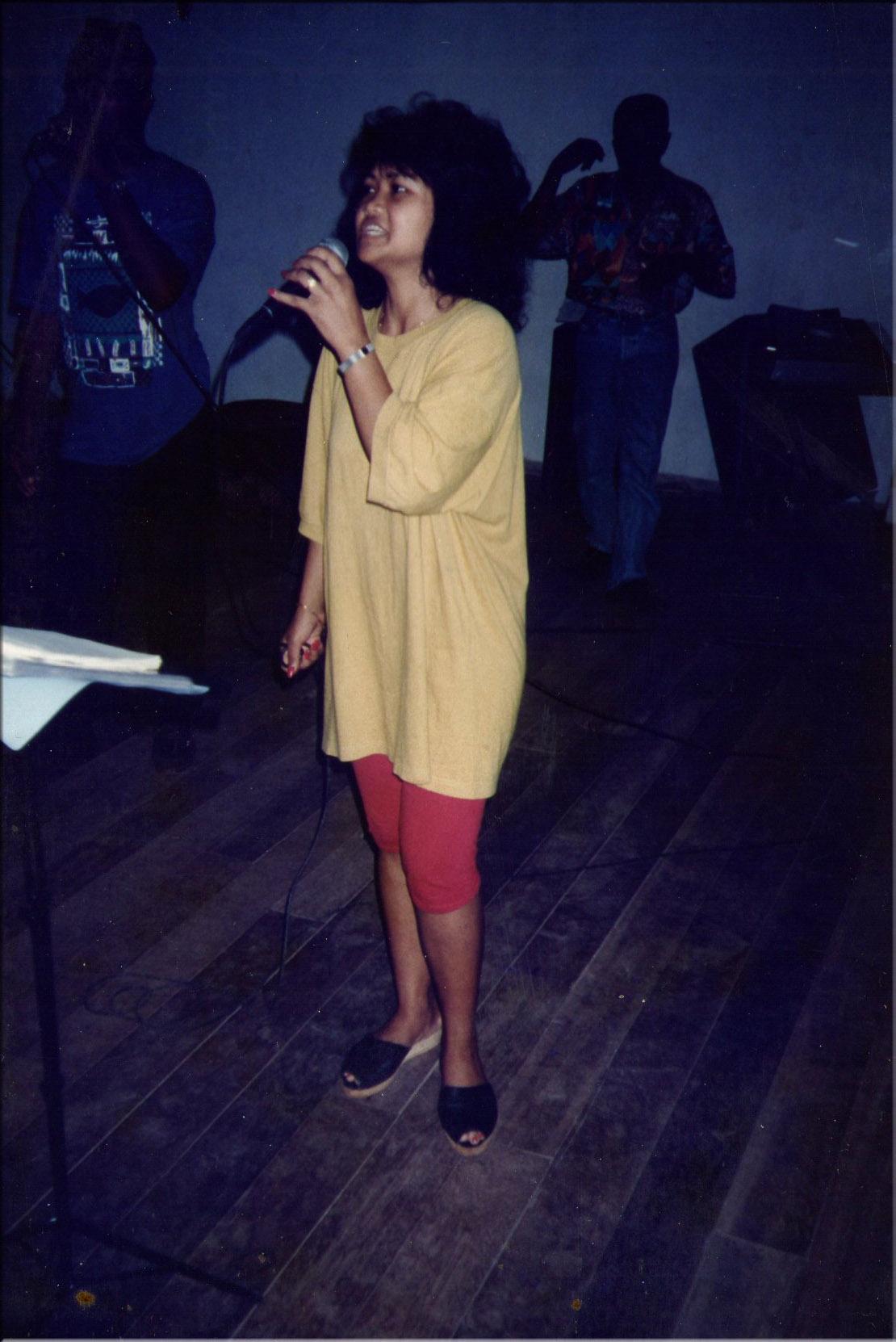 Carmen en répétition