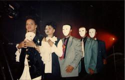 au tournage clip S.O.S 1996