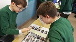 Investigamos rochas e minerais