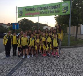 Baloncesto Franciscanos, premio en Portugal