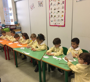 Papiroflexia en Infantil