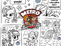My Little Ponies Coloring Page plug jpeg