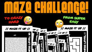 Maze Printouts