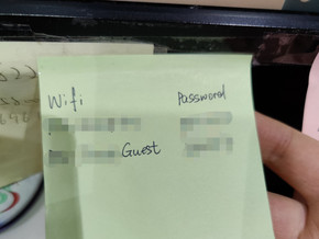 Data Privacy Compliance 101: Don't Put Your WIFI Password on a Post-It