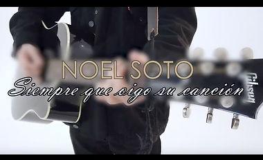 """Noel Soto """"Siempre que oigo su canción""""."""