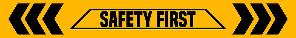 safety first banner herbal hill studios.