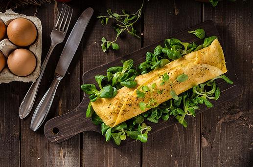 fluffy omelette student receipe blog 1.j
