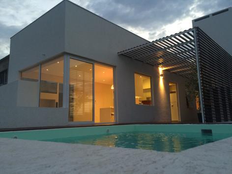 Vivienda construída con el sistema Steel framing