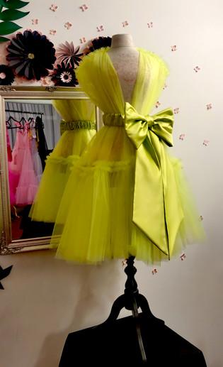 Midi robe Lime