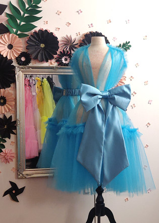 Midi Robe blue