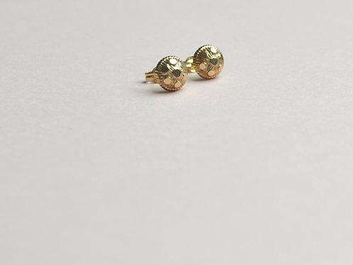 Goa Studs Small - 9ct Gold
