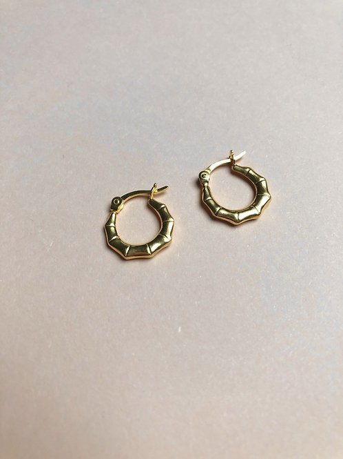 Angled Hoop Earrings