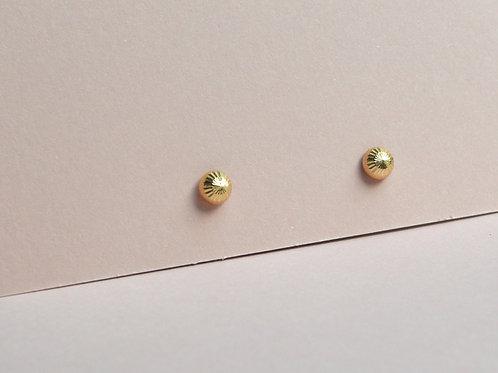 Horizon Studs - 9ct Gold