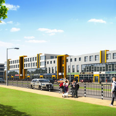 Building A4 of Logistic Park Varna