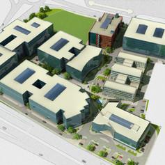 Master Plan Redesign of Business Park Varna