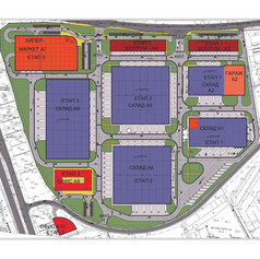 Master plan of Logistic Park Varna
