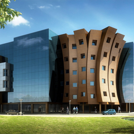 Building 2 of Business Park Varna