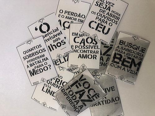 Mini Clichês Avulsos (50 und)