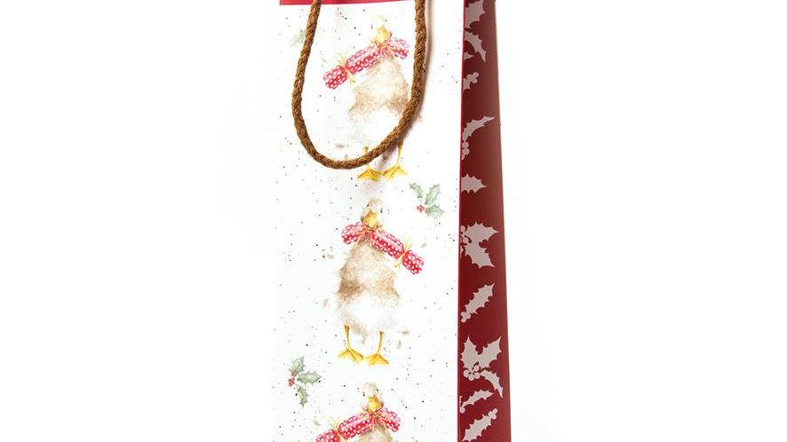 'Christmas Cracker' Luxury Bottle Gift Bag