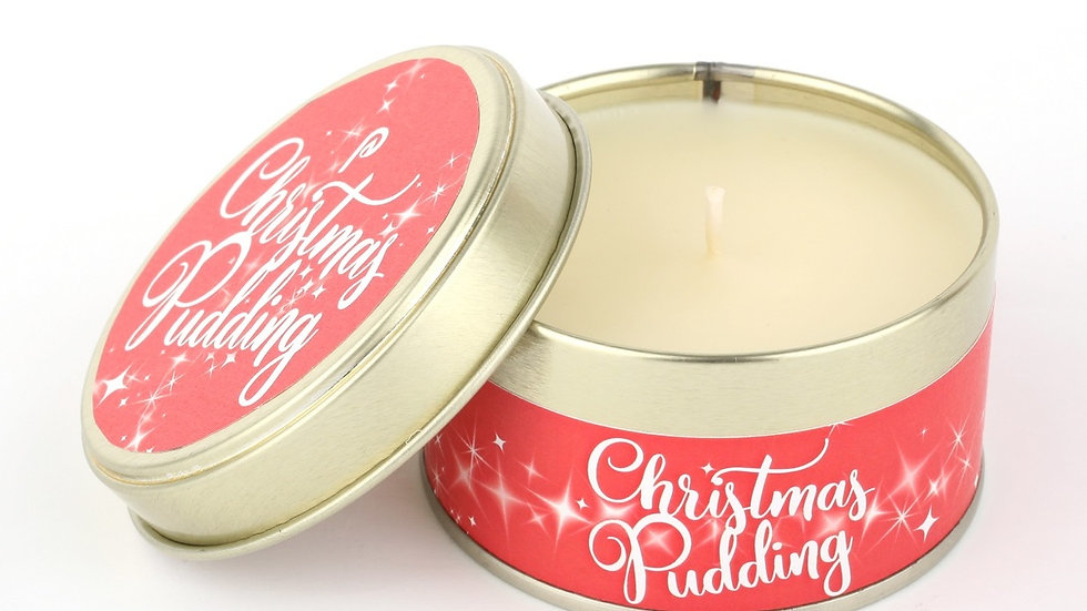 Christmas Pudding Candle - Scents of Christmas By Pintail Candles