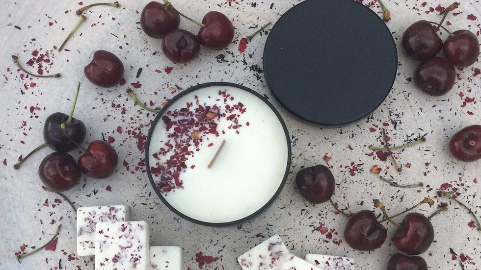 Cheeky Cherry - Eco Tin Candle
