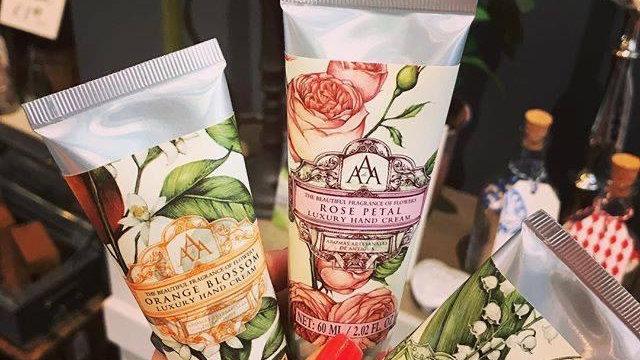 2 x Tubes AAA Luxury Hand Cream 60ml Tube - Choose From 4 Fragrances