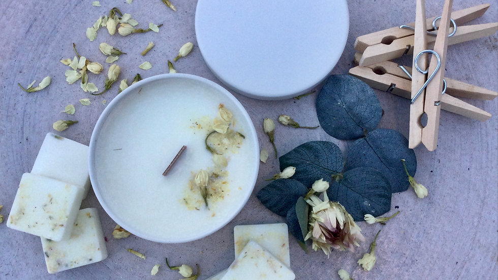 Clean Cotton - Eco Tin Candle