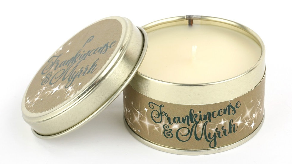 Frankinsense & Myrrh Candle - Scents of Christmas By Pintail Candles