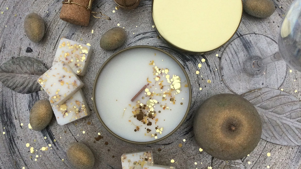 Champagne Moments - Eco Tin Candle