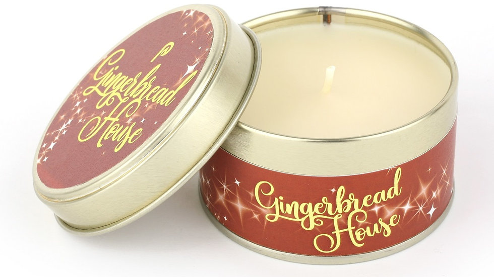 Gingerbread House Candle - Scents of Christmas By Pintail Candles
