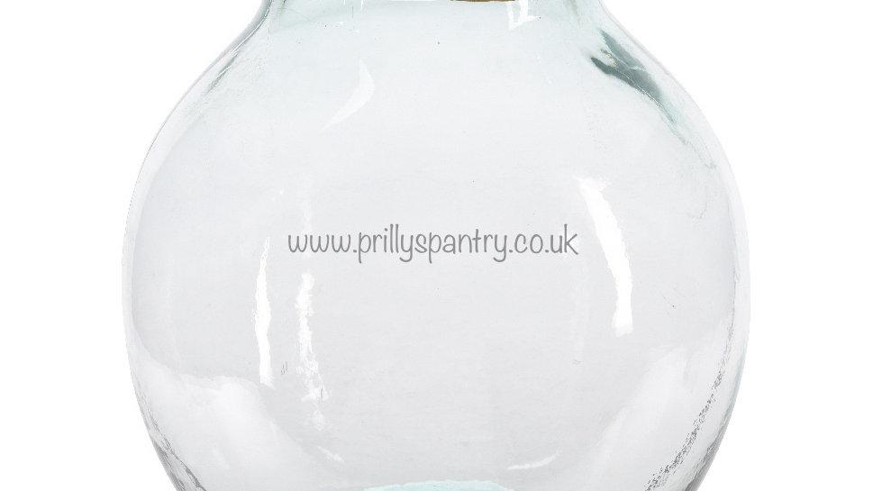 Medium Round Chunky 100% Recycled Bottle Vase
