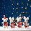 Thumbnail: 'Noel' Set of 4 Festive Felt Mice Standing Decorations