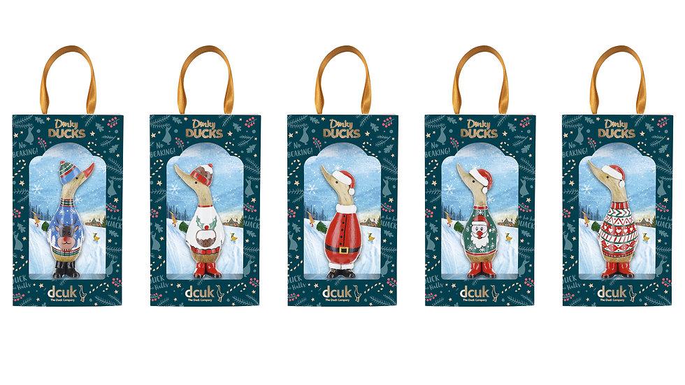 DCUK - Cosy Christmas Dinky Ducks - Choose Design