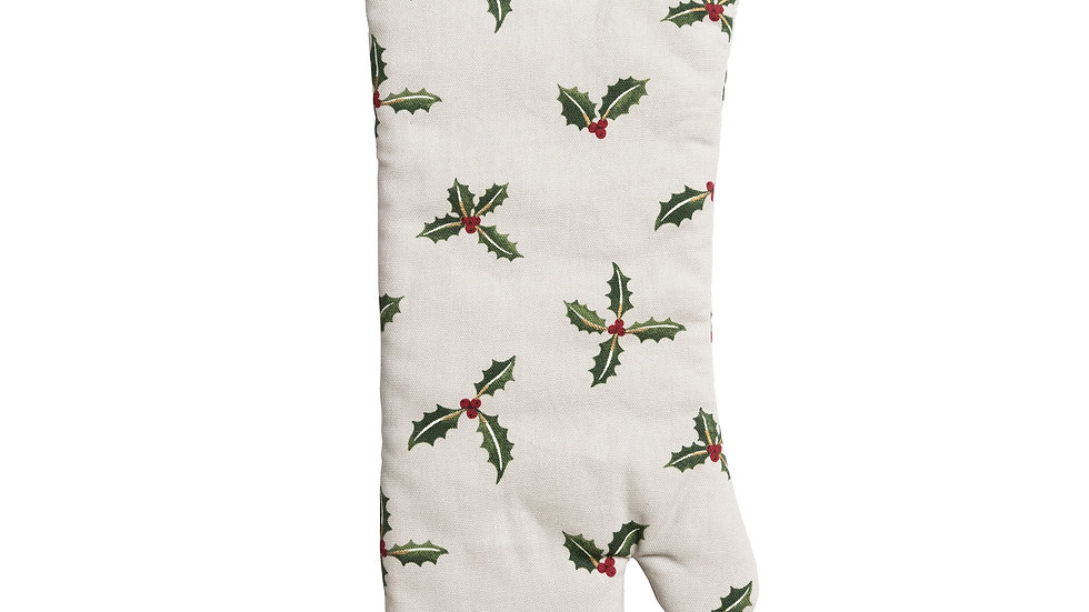 Holly & Berry Gauntlet Single Oven Glove - Sophie Allport