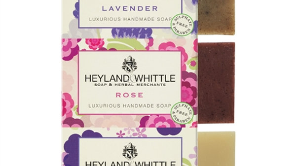 Heyland & Whittle - 3 Pack Mini Soap Bars
