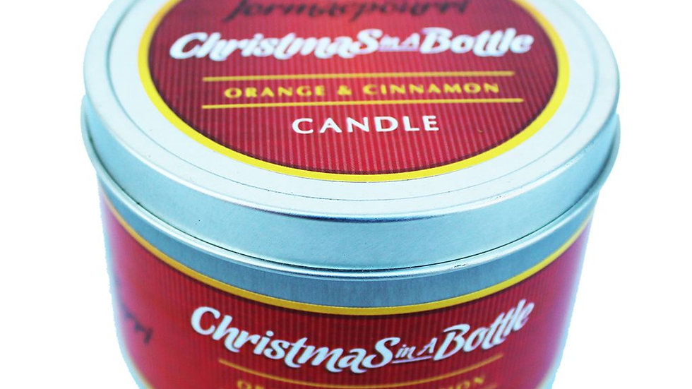 'Christmas in a Bottle' Candle - 40 Hour Burn