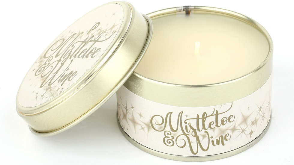 Mistletoe & Wine Candle - Scents of Christmas By Pintail Candles